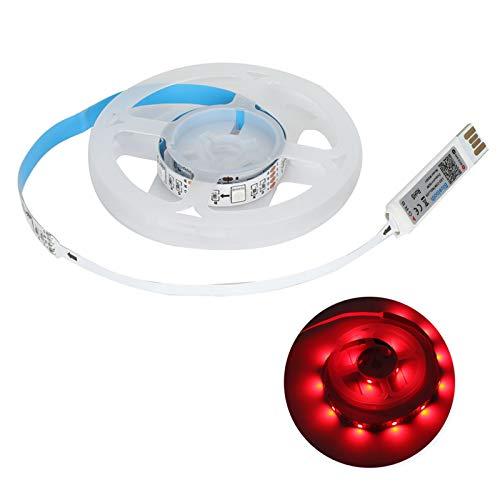 HYM los 0.5m LED tira luces USB control de voz sincronización música lámpara decoración de la pared para Bluetooth