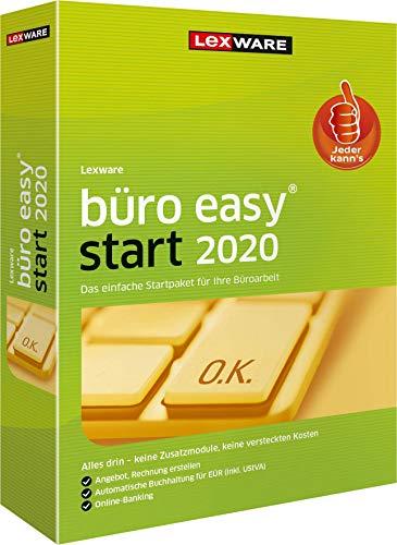 Lexware büro easy start 2020 Minibox (Jahreslizenz)|für Kleinunternehmer und Existenzgründer|Bürosoftware mit Basisfunktionen - einfach zu bedienen|Kompatibel mit Windows 7 oder aktueller