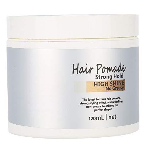 Cera para el cabello, cera de pomada natural para el cabello, hidrata y acondiciona el cabello 120 ml para hidratar el peinado