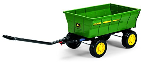 Peg Perego John Deere Farm Wagon, Green