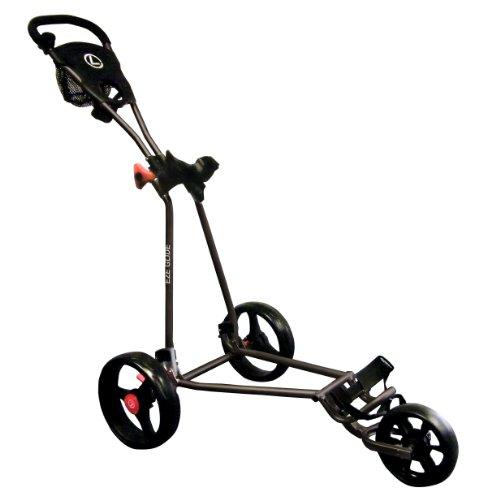 Longridge Uni Golf Trolley Eze Glide Cruiser, Schwarz
