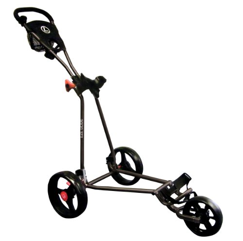 Longridge Uni Golf Trolley Eze Glide Cruiser, Schwarz