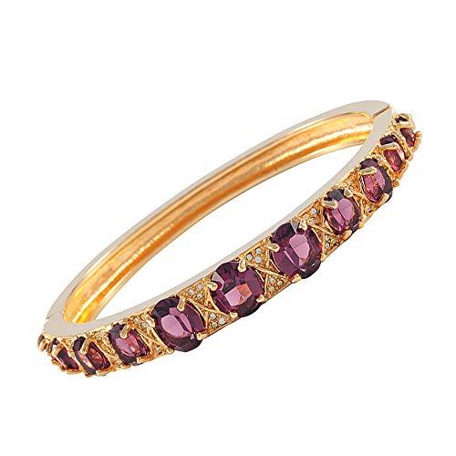 The Elvis Jewellery Collection Damen Armreifen Vergoldet - 903LA312GA-80