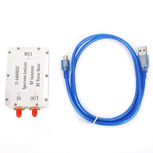 Analizador de espectro, 35-4400Mhz Rf Meter Analizador de red Siglent Spectrum Analyzer Spectrum Analyzer Aleación de aluminio Shell Sweep Signal Source Power Meter