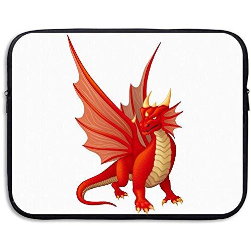 15inch Drachenrot Design Laptop Schutzhülle Aktentasche Schutzhülle für Notebook