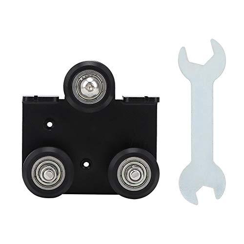 Piastra di supporto per estrusore, Piastra di supporto posteriore per estrusore Piastra di supporto per estrusione per stampante 3D Creality, utilizzata
