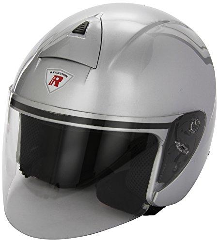 Bottari Motorradhelm Ergon, Metal Silver, Größe XL