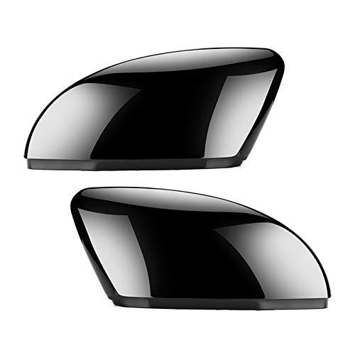 DunMenEn 2 Pezzi Adatta per Volkswagen VW Passat B7 Jetta MK6 CC Scirocco MK3 ABS Laterale ABS Vista Posteriore Vista Posteriore Coperchio di Ricambio Tappi di Ricambio Trim DunMenEn