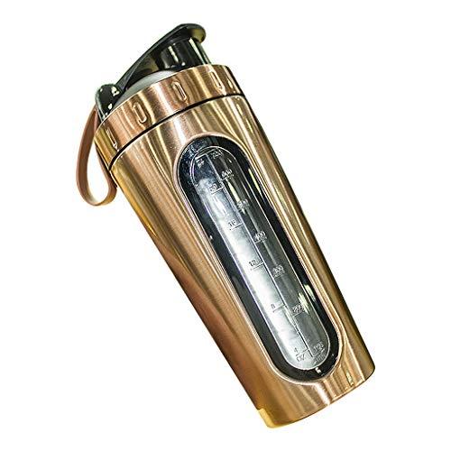 Lius 700ml Sport Water Bottle Shaker per proteine in Acciaio Inossidabile Bicchieri da Viaggio per Esterni