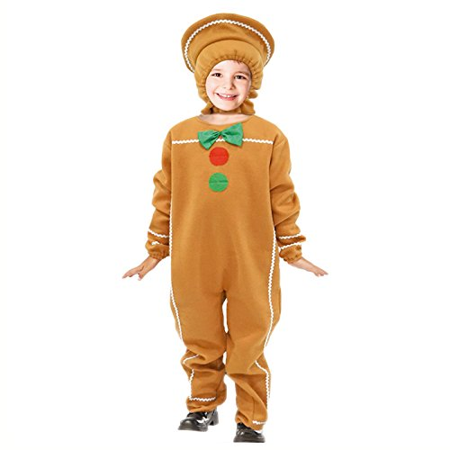 Disfraz Galleta Jengibre Infantil Navidad 2-4 años