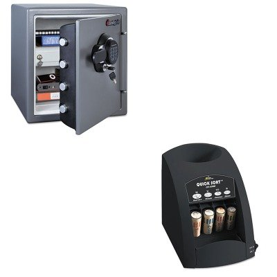 kitrsico1000sensfw123gdc – Value Kit – Sentry Fire-Safe electrónico (sensfw123gdc) y Royal Sovereign rápida tipo co-1000 one-row Coin Sorter (rsico1000)