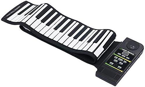 Kinder Tasten Klaviere Keyboards Multifunktion elektronische Orgel für Kinder und Anf er Handrolle Klavier 88 Tastenverdickung mit Hupentastatur tragbare Klaviersilikontastatur