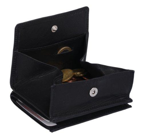 LEAS Wiener Schachtel Echt-Leder, schwarz Special Edition