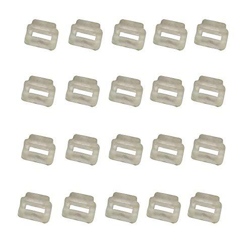 YICBOR 20pcs Press FT Support Rubber for BARUDAN HT230340 (HT230341) White Original Quality BARUDAN Embroidery Machine Spare Parts/Prague