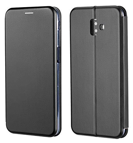 M.CEP hülle passexakt für Samsung Galaxy J6 Plus Hülle I GRATIS 2in1 Touch Pen I Galaxy J6 Plus 2018 Tasche I hochwertige j6+ 2018 PU lederhuelle
