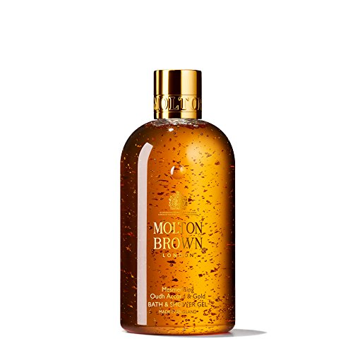 Molton Brown Mesmerising Oudh Accord & Gold Bath & Shower Gel, 300 Ml