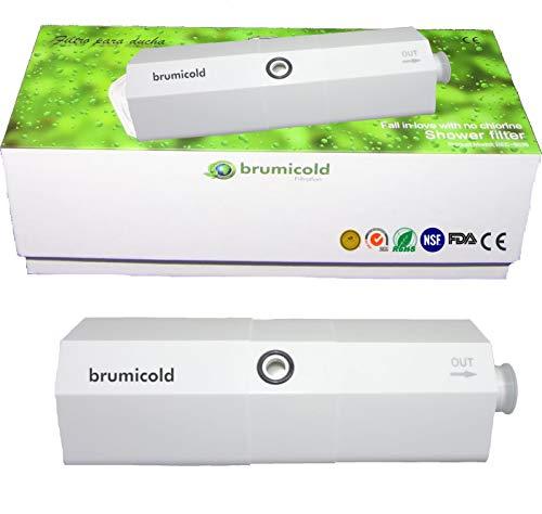 BRUMICOLD SPAIN RECAMBIO FILTRO DUCHA 5026, ELILMINA CLORO, METALES PESADOS, BACTERIAS, HONGOS, MICROPLASTICOS, ultrafriltracion