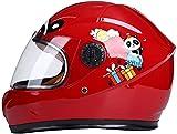 Motesen Cascos de moto para niños de 5 a 10 años Cascos de moto integrales para niños Casco de bicicleta para niños Casco de scooter para niños Cascos de ciclismo para niños y niñas