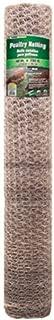 Mat Midwest Air Tech 308432B 48-Inch-by-150-Foot 1-Inch Mesh 20-Gauge Hexagonal Poultry Netting