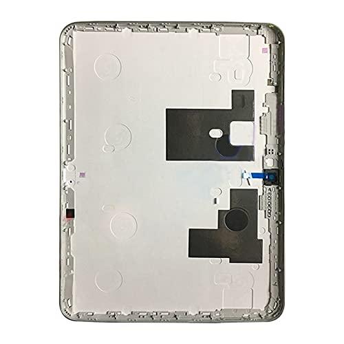 Dongdexiu Accesorios para Celular Tapa Trasera de batería for Galaxy Tab 3 10.1 P5200 (Color : Blanco)