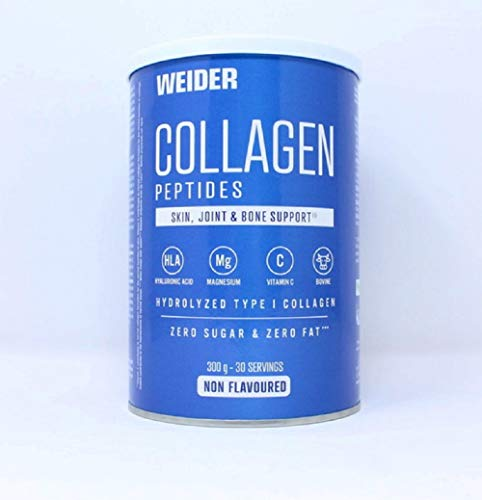 Weider\' Colágeno Péptido Polvo 300g, Envejecimiento Saludable de las Articulaciones y los Huesos, Nutrición Deportiva, Belleza de la Piel y las Uñas