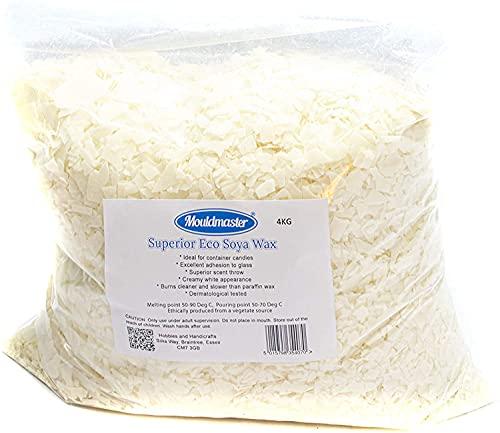 Moldmaster 4kg Mouldmaster Superior Soy Wax, White