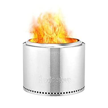 Solo Stove Bonfire Fire Pit - Outdoor Fire Pit for Patio & Backyard. Less Smoke So Clothes Won't Smell. Modern Stainless Steel Design. Great for Outdoor, Backyards, Patio, Camping, Festivals