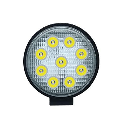 XIAOQIN BOMY FIT FOR Trabajo Light 27W 42W 48W Faros 4X4 Accesorios Offroad LED LED Barra de Luces 12V Light Off Road Fit para Barra LED Lámpara Ajuste para Uaz Jeep