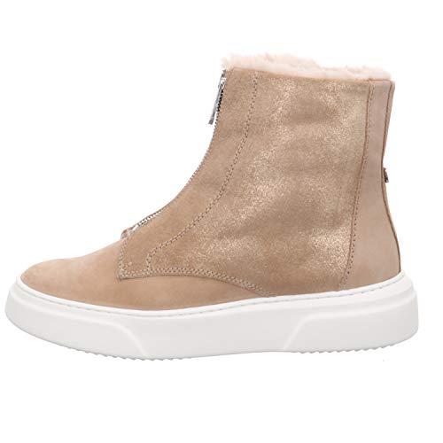 MARCCAIN Sneaker Bootie Größe 40 EU Beige (Beige)