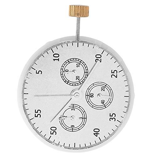 DAUERHAFT Fácil de reemplazar Movimiento de Reloj 7750 Cómodo de reemplazar Movimiento de Reloj Material de Metal plástico Reloj Pieza de Reloj 7750 Herramienta de reparación de Reloj Larga Vida útil
