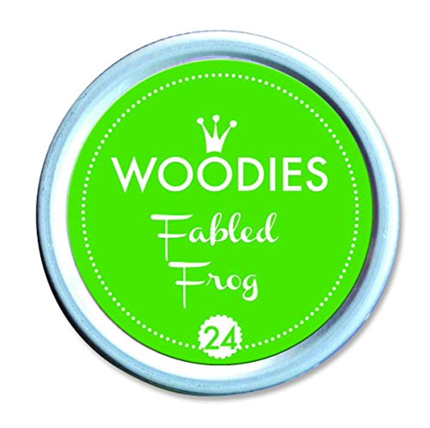 WOODIES Stamp Pad Ink Tin, Fabled Frog (072051)