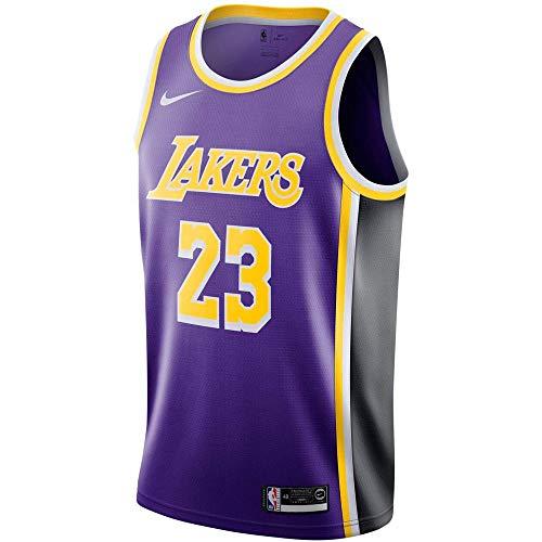 Nike LAL Mens NBA Swingman ALT1 Jersey AA7097-514 Size S