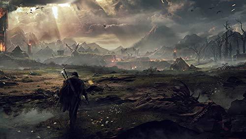 Póster de la Tierra Media Shadow Of Mordor Eagle para videojuegos (30,5 x 45,7 cm), multicolor