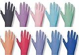 Einmalhandschuhe PEARL ColorLine von Unigloves, Nitril, verschiedene Farben Pink M medium