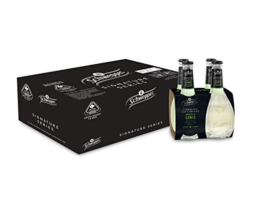 Schweppes Signature Series Mexican Lime, 6 x 4 x 300ml (24 bottles total)