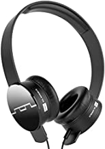 SOL REPUBLIC 1211-01 Tracks On-Ear Interchangeable Headphones with 3-Button Mic and Music Control - Black