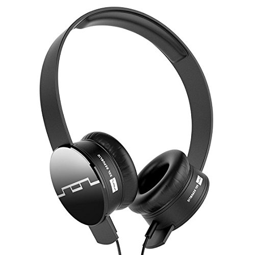 SOL REPUBLIC 1211-01 Tracks On-Ear Interchangeable Headphones with...