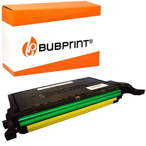 Bubprint Toner kompatibel für Samsung CLT-Y5082L/ELS für CLP-620 CLP-620ND CLP-670 CLP-670N CLP-670ND CLX-6220FX CLX-6250FX 4.000 Seiten Gelb