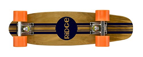 Ridge Retro Skateboard Mini Cruiser, orange, 22 Zoll, WPB-22