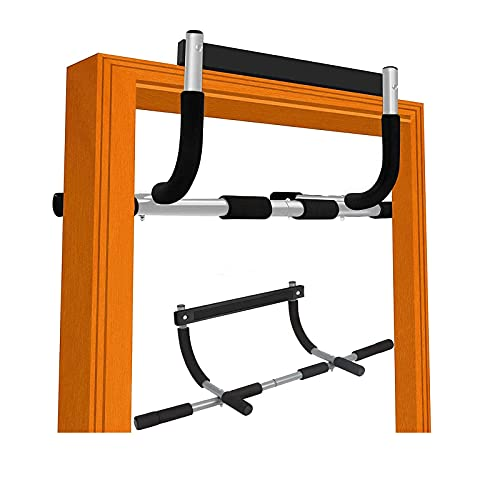 BesPart Pull Up Bar Strength Training Pull Up Bars Doorway Pull Up Bar Mounted Chin Up Bar for Door Multifunction Home Gym Equipment