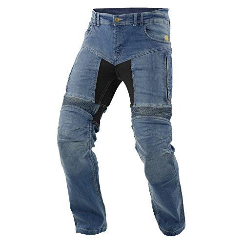 Trilobite Motorrad Herren Jeans Parado, blau Größe : 34 lange