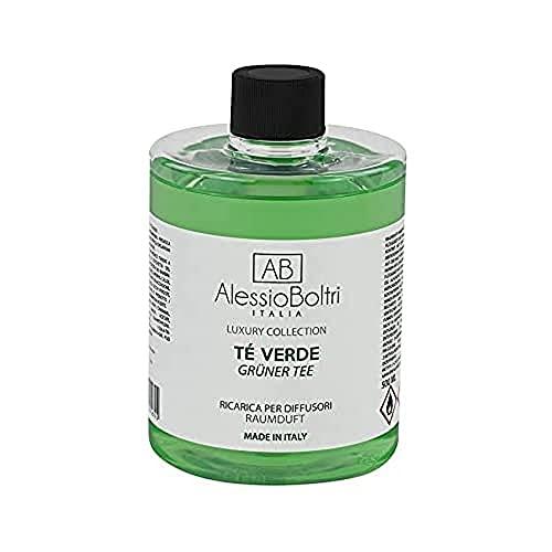 AB Alessio Boltri - Ricarica per diffusori Luxury 500 ml, profumazione tè Verde