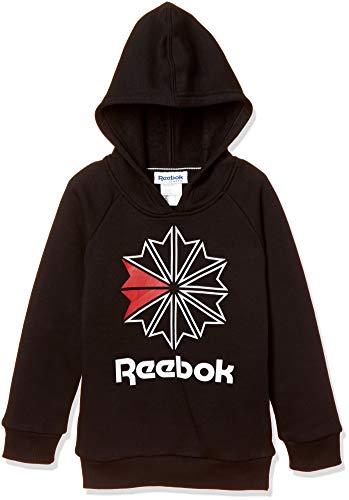 Reebok Jungen B Classics Hoody Sweatshirt, Schwarz, M