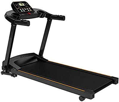 HADST Premium Electric Folding Treadmill, Running Machine,Large Running Surface,12 Adjustment Speed,Easy Assemble & Ultra Quiet, LCD Display, Home Exercise Cardio Workout Fitness Training Gifts