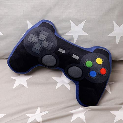 Puckator - Cuscino per controller di gioco in peluche, multicolore, altezza 11,5 cm, larghezza 35 cm, profondità 8 cm