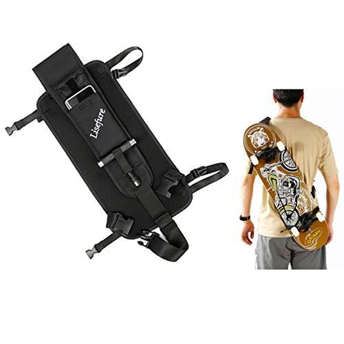 スケボーバッグ スケートボードケース ロングボードバッグ ボード収納袋 リュック ケース リュックサック 肩紐つき 防水保証付き