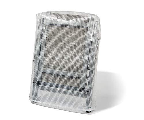 Abdeckhauben-Shop.de Schutzhülle für Gartenstühle Passend für Niedriglehner 100% Wasserdicht (85x97cm)