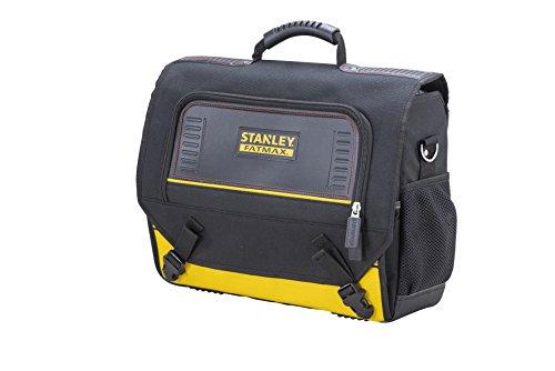 Stanley FMST1-80149 FatMax Laptop- und Werkzeugtasche, robust, wasserabweisend, abnehmbare Schultergurte