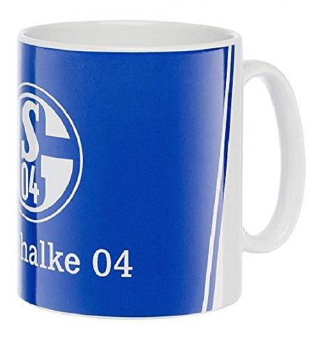FC Schalke 04 Classic Tasse Kaffeebecher, Größe:one size;Farbe:blau/weiß