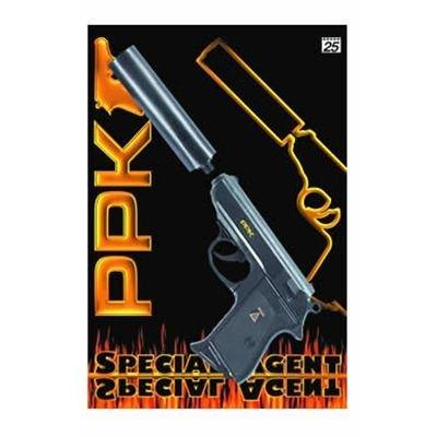 Sohni 0472 Kaart - snelvuurpistool met geluiddemper